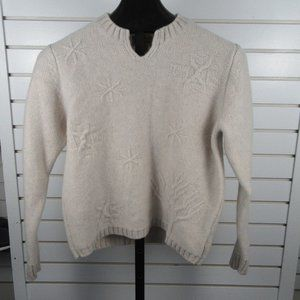 Woolrich 100% lambs wool sweater sz M